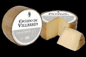 Escudo de Villarrín queso oveja curado