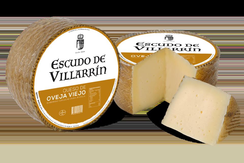 Escudo de Villarrín queso oveja viejo