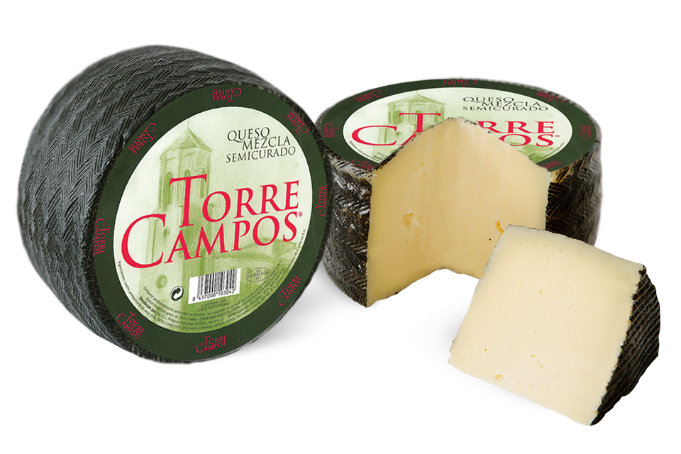 Torrecampos queso mezcla semicurado